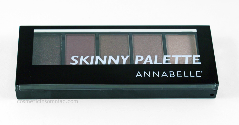 ANNABELLE - Skinny Eyeshadow Palette in Summer Purple Shades  $9.95 CAD