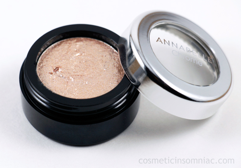 ANNABELLE Cosmetics  Chrome Single Eyeshadow - Gold