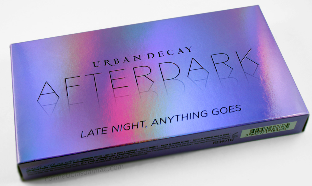 Urban Decay Afterdark Palette     $59.00 CAD    (click to enlarge)