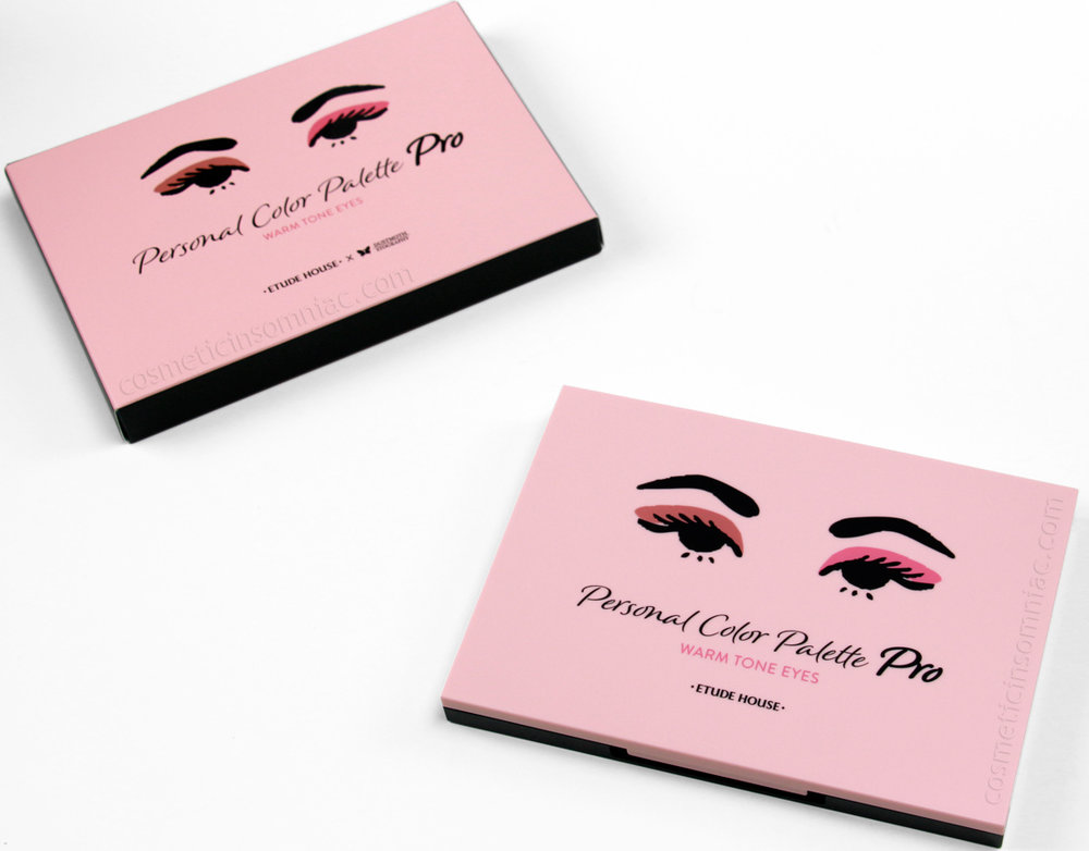 Etude House    -    Personal Color Palette Pro_Warm Tone Eyes    $42.00 USD  Made in Korea