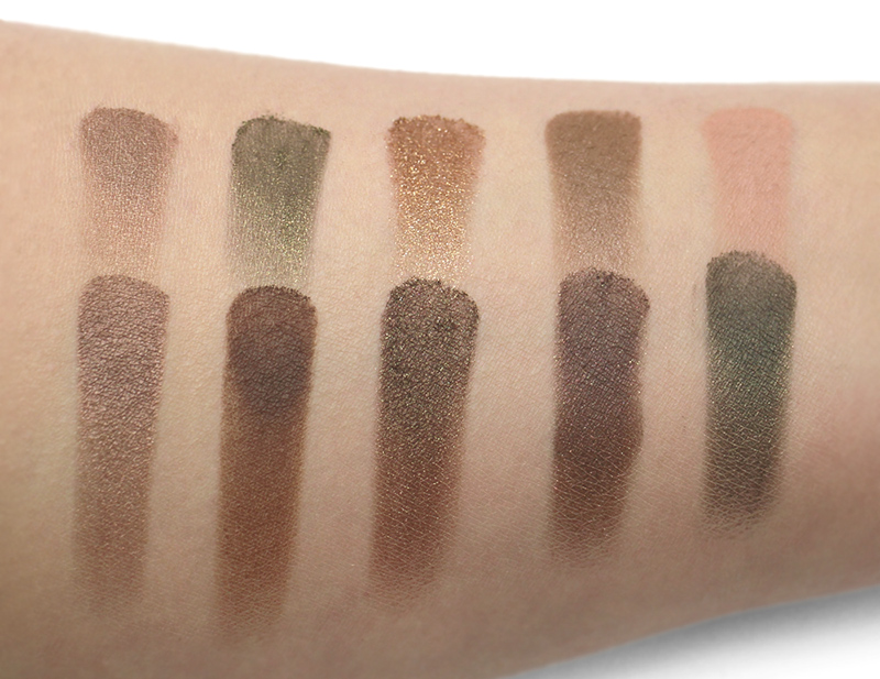 Etude House    -    Personal Color Palette Pro_Warm Tone Eyes    Swatches taken under 5000k fluorescent lighting