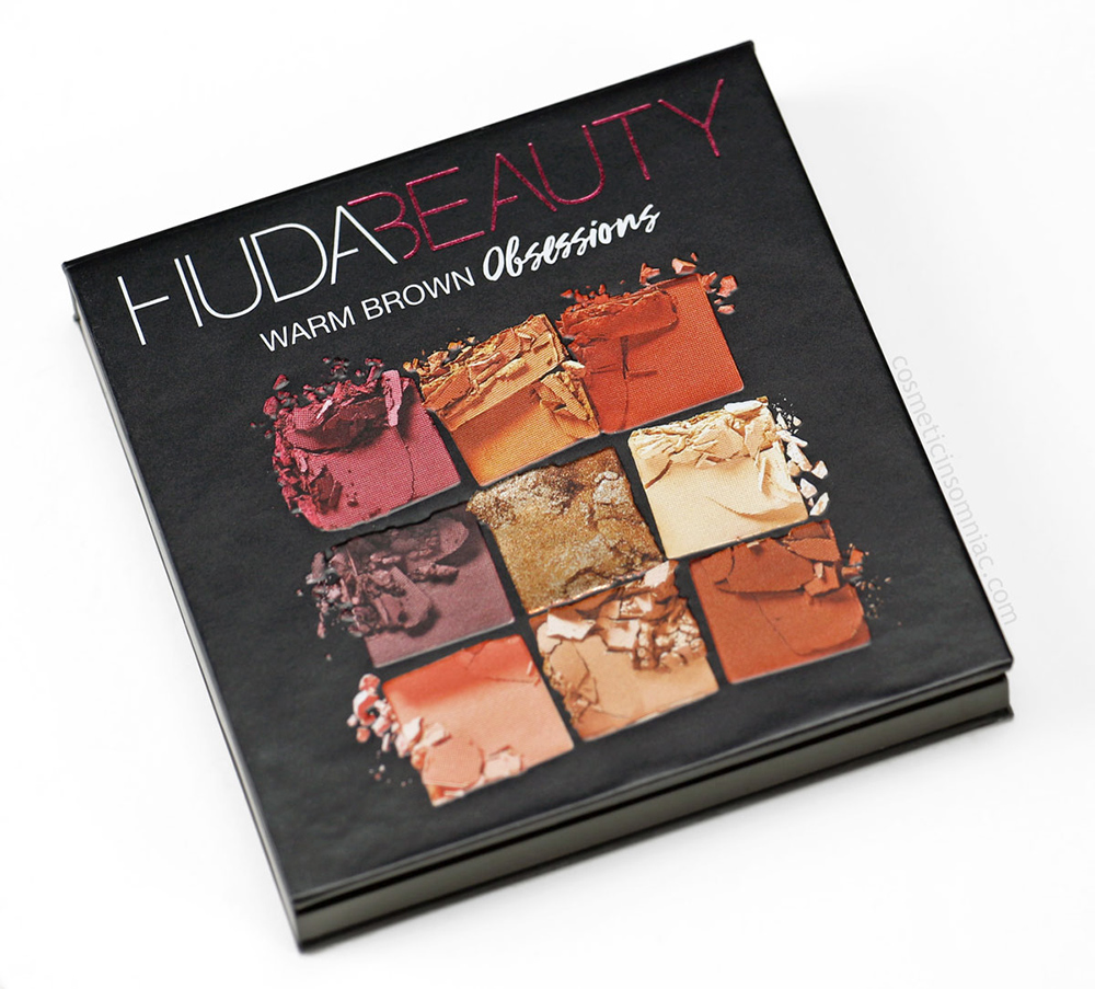 HUDA BEAUTY Obsessions Eyeshadow Palette      Made In China      $35.00 CAD