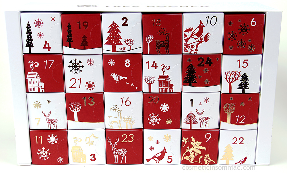 Yves Rocher    2017 Advent Calendar    $59.00 CAD