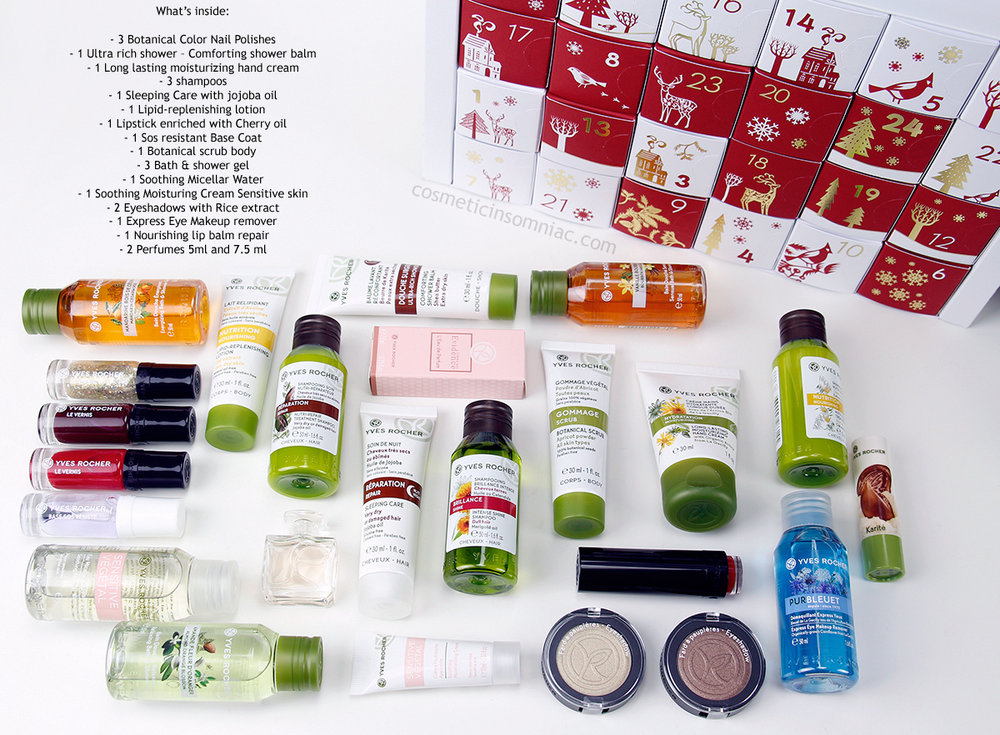 Yves Rocher    2017 Advent Calendar    $59.00 CAD    (click to enlarge)