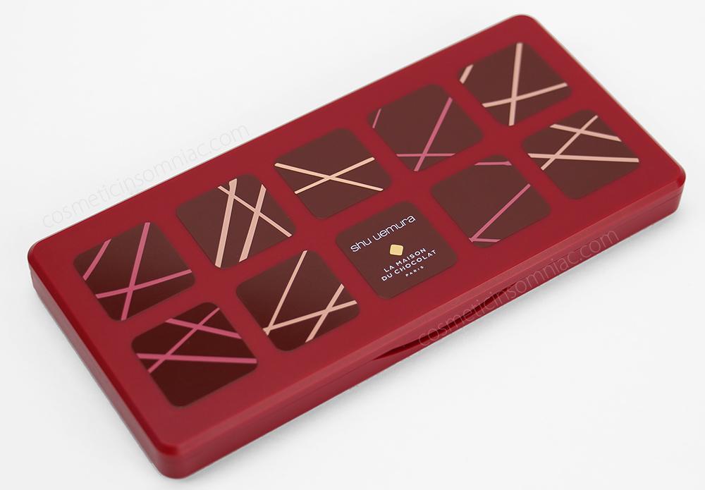 shu uemura ganache & praline eye palette - framboise berry      la maison du chocolat collection      $115.00 CAD