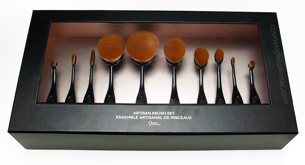 QUO ARTISAN BRUSH SET      $80.00 CAD      PRODUCT OF CHINA