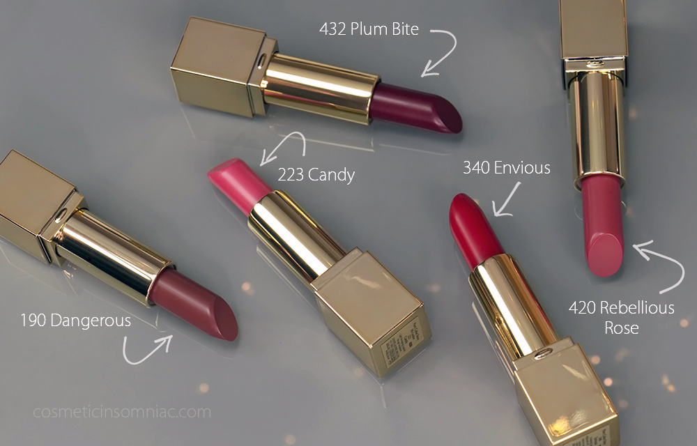 ESTEE LAUDER PURE COLOUR ENVY SCULPTING LIPSTICK      5 PIECE GIFT SET      $78.00 CAD