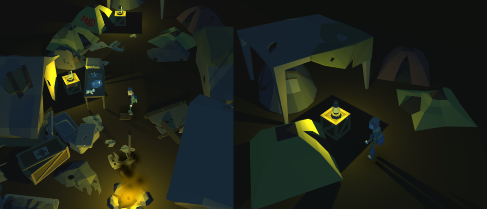 The game allows you to explore a dark and chaotic world, maybe not that far from our own.