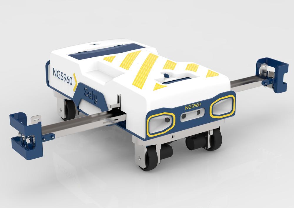 Soly, le robot intelligent qui gère les flux colis en entrepôt