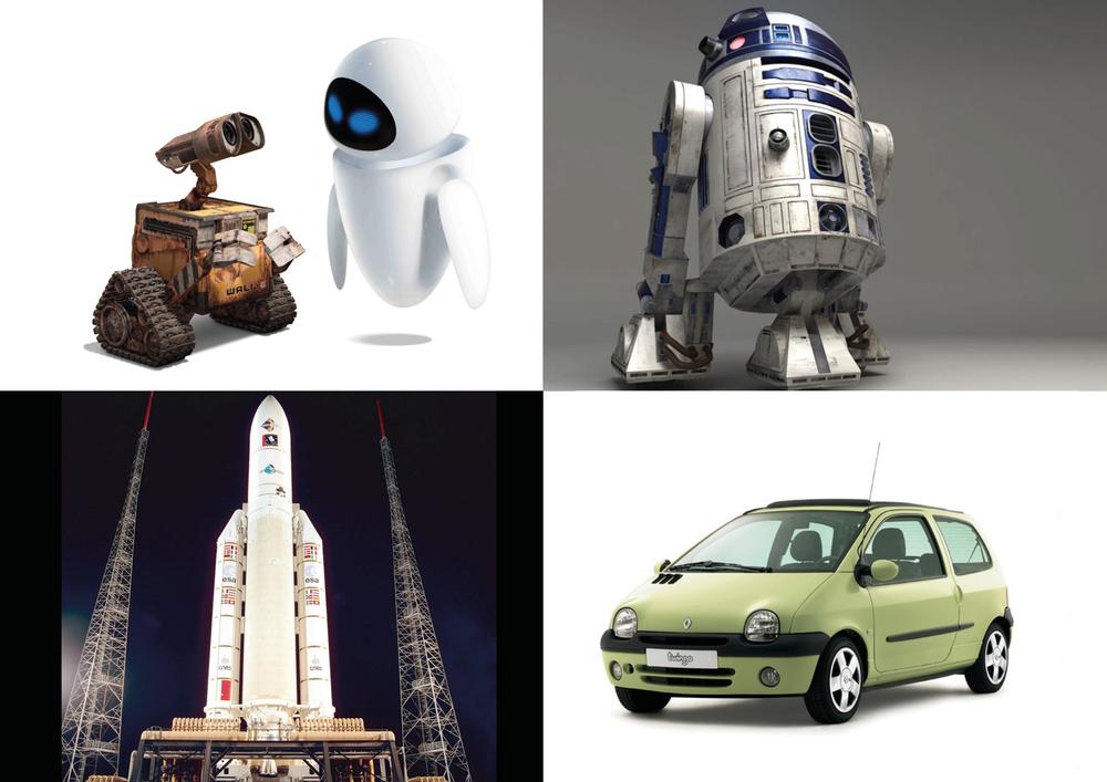 exemples d'objets de labeur pourvus de vraies personnalités