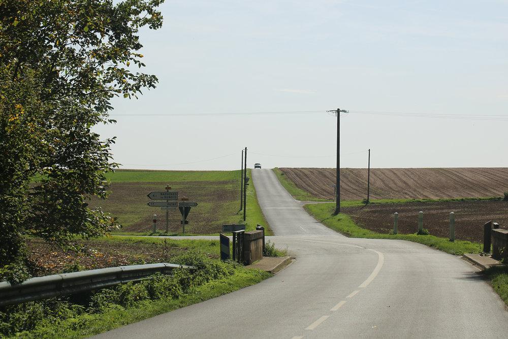 sur les routes entre Orléans et Bonneval
