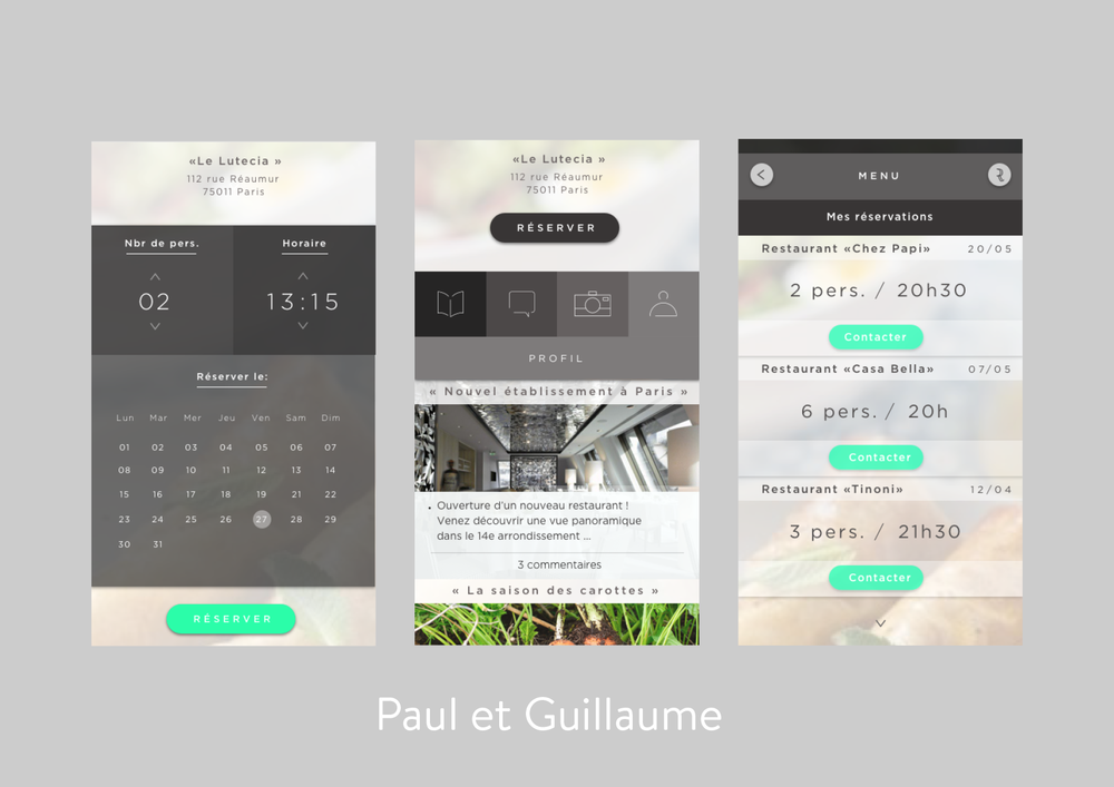 paul et guillaume app