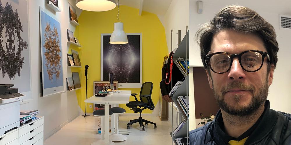 Mon nouvel atelier et Raphaël le décorateur !