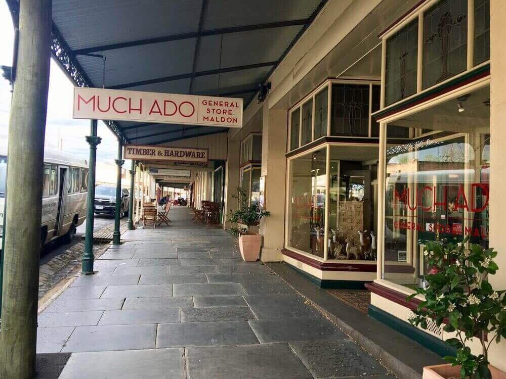 Maldon town shops