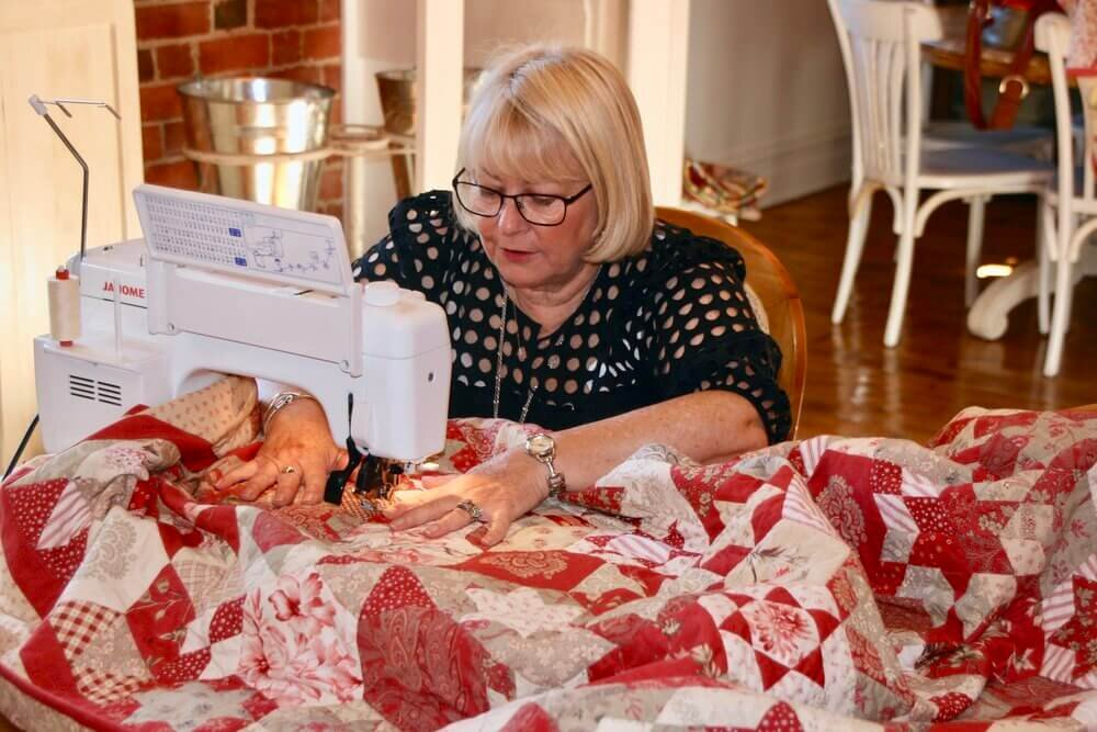 Quilting and Sewing at The Eaglehawk Hotel