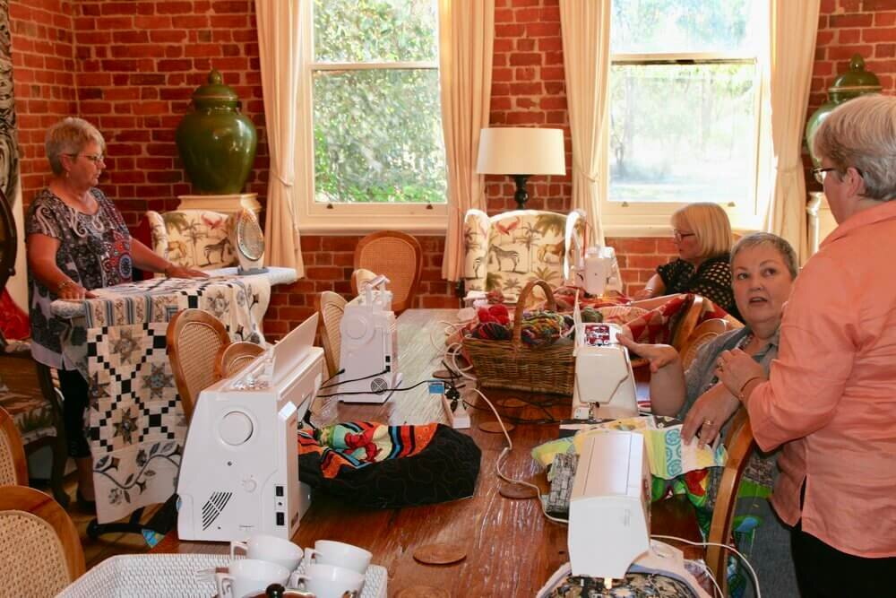 Quilting getaway at The Eaglehawk Hotel Maldon