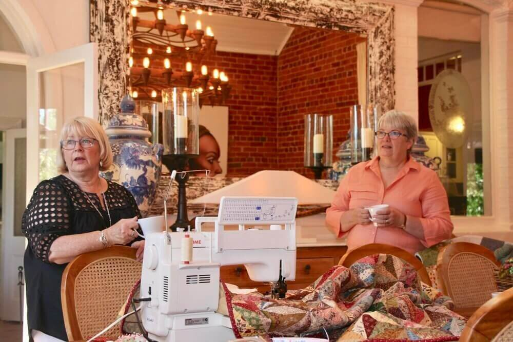 Quilt, Talk, Enjoy, Relax and Quilt some more at The Eaglehawk