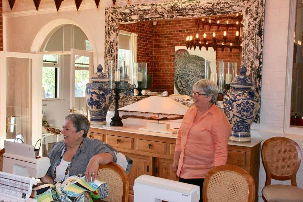 Quilting in an Historic setting at The Eaglehawk