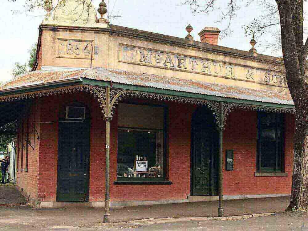 Maldon heritage buidings