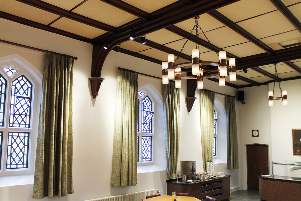 Lighting design @ St Beuno's Dining Hall