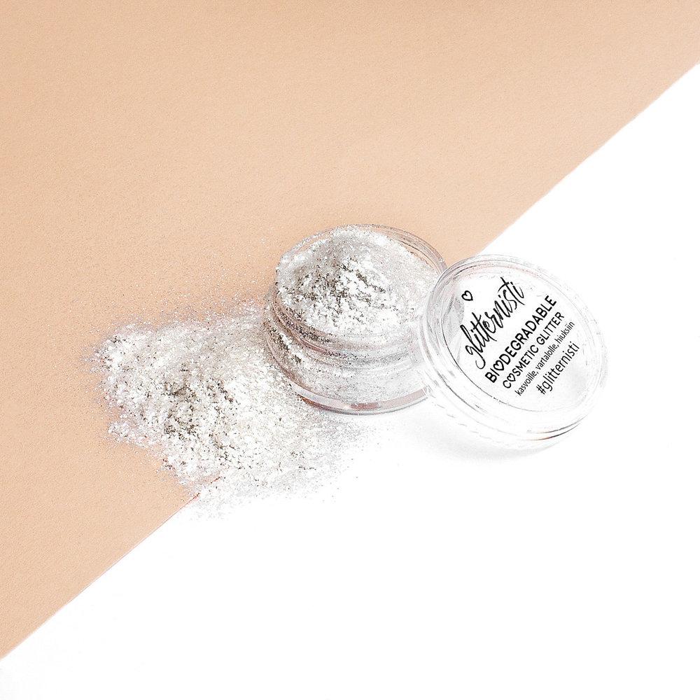 Eko Fine Silver Powder luontoystävällinen highlighter