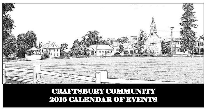 Craftsbury Calendar
