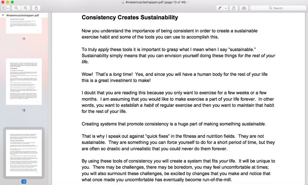 The included consistency guide will set you up for success!