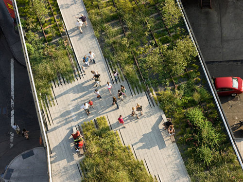 THE HIGH LINE