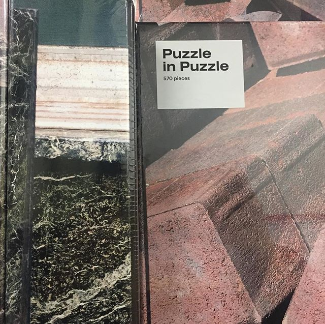 Weekend  Plans : @thestoreatmad puzzle in a puzzle with photography by #kangheekim . . . . . #puzzleinapuzzle #Kangheekim #vsco #areaware #gaming #retail #missiondriven #art #design #clients #photography #museum #emergingartist #newyork #columbuscircle #thestoreatmad #tgif