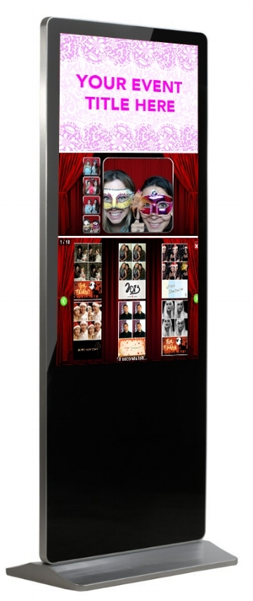 "42""  Photo Booth - Perfect for corporate events."