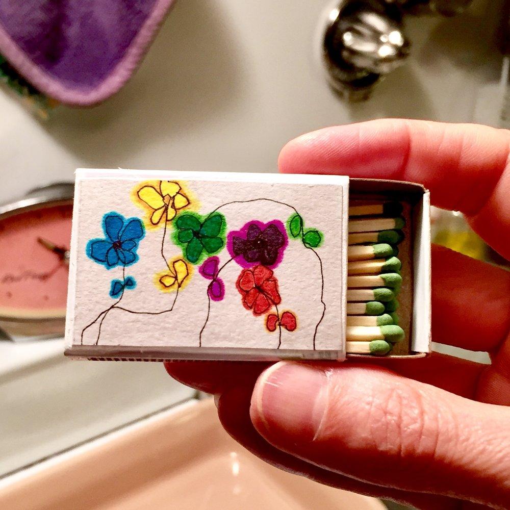 #9. Wiry Flowers