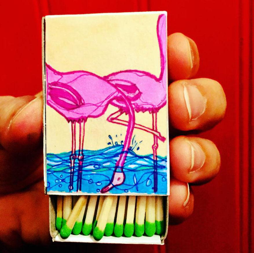 #89. Flamingos