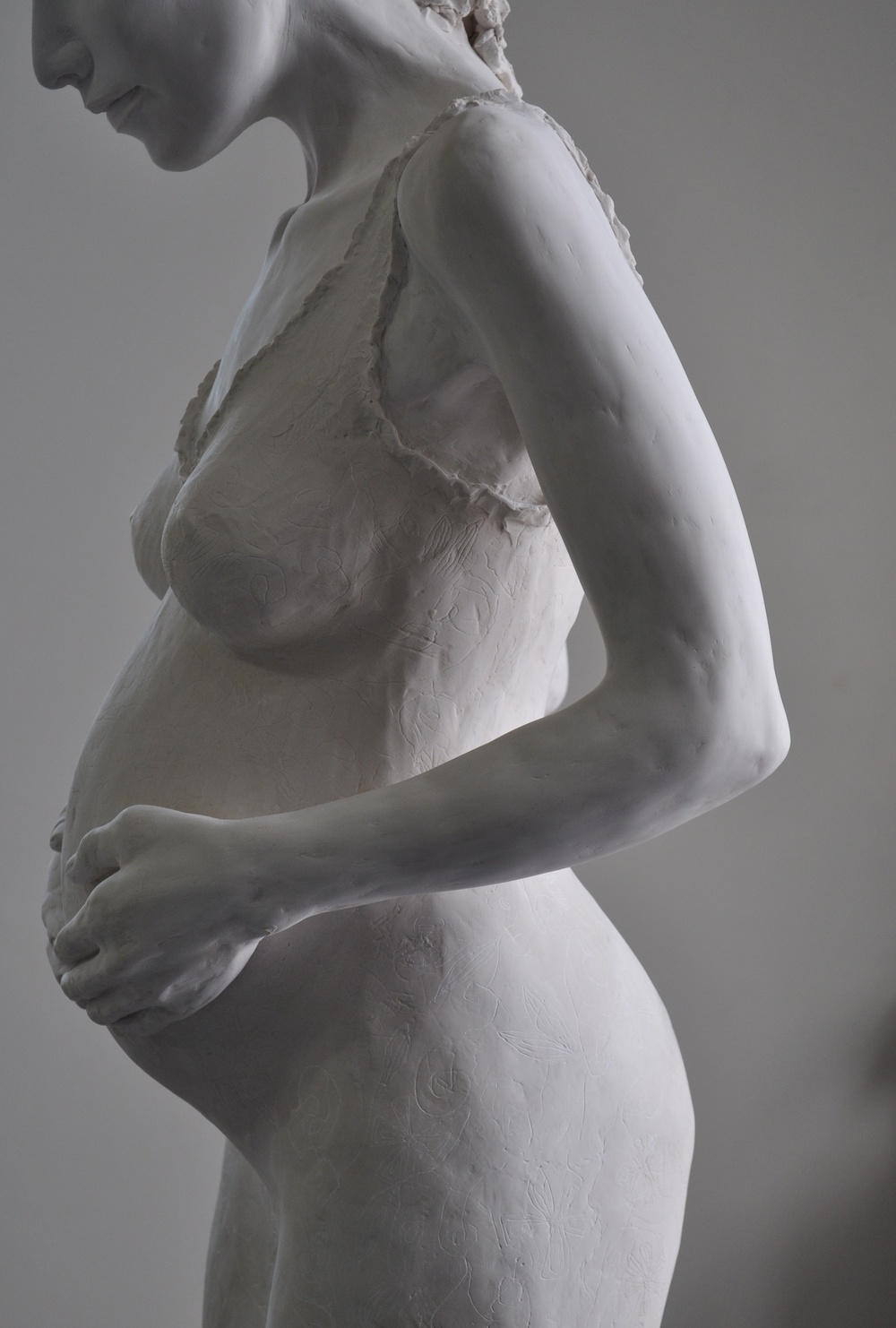 'Expecting Marie'  Limited Edition Eight  in Resin  Dimensions:  175cm