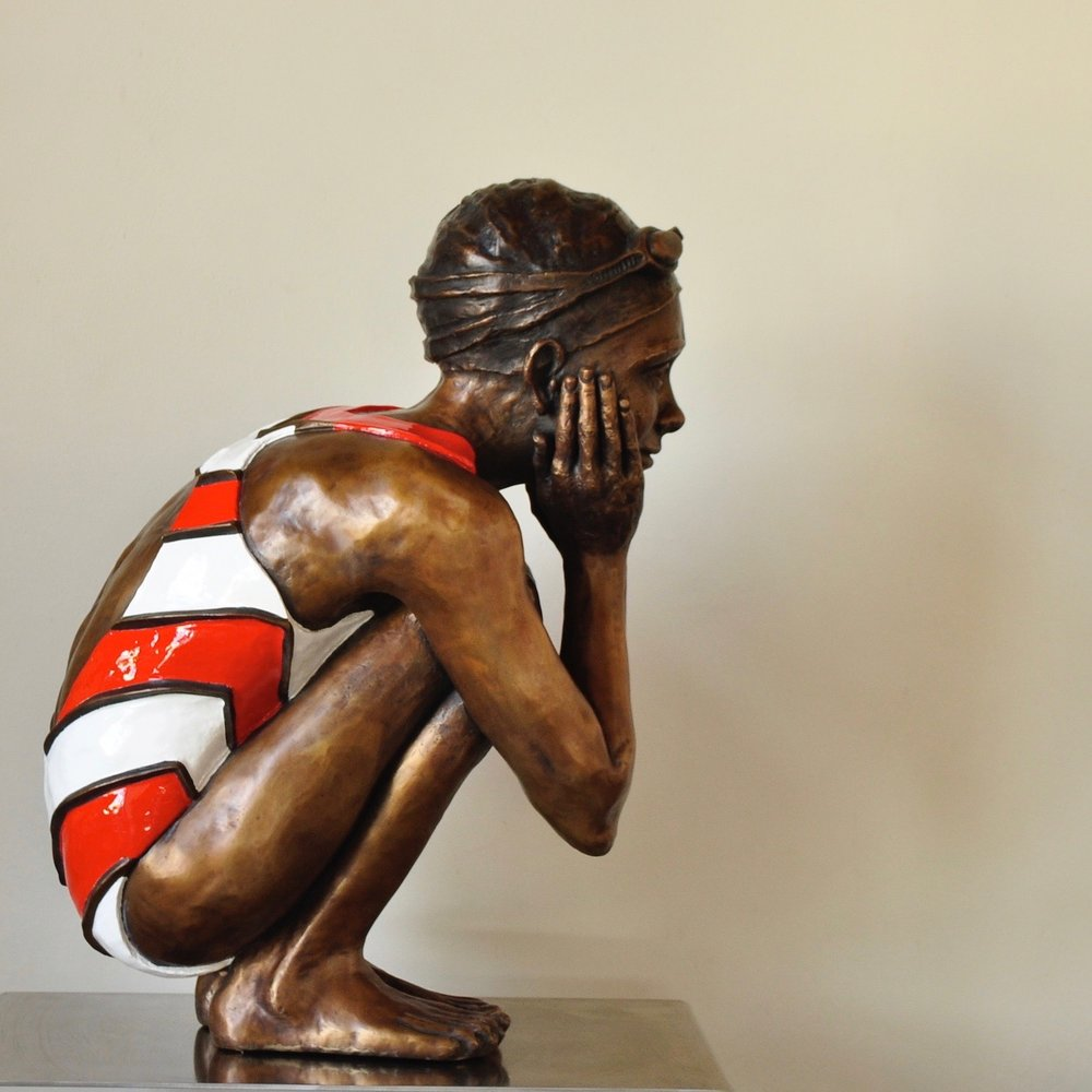 Awaiting Your Return  Limited edition of Eight in Bronze - Edition closed  Dimensions: 80cm