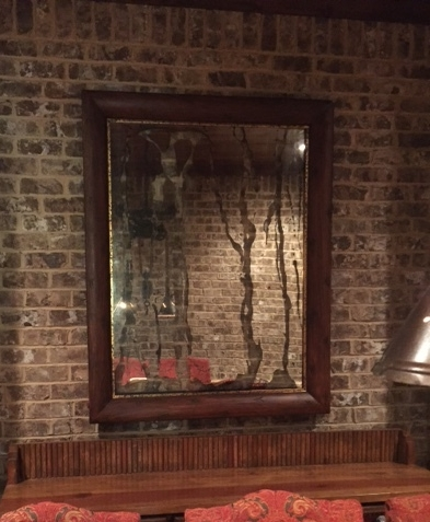 Wine Room Mirror- As It Flows