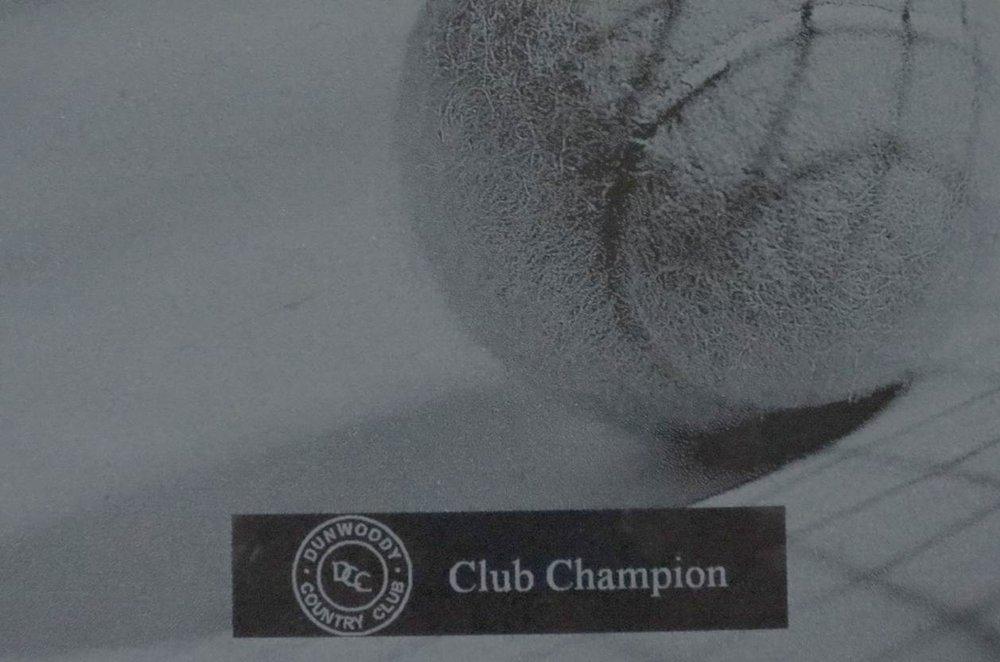 Tennis Club Champion