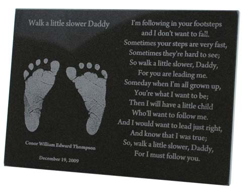 Walk A Little Slower Daddy