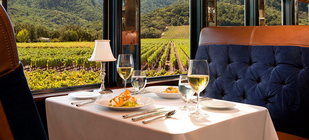 Gourmet Meal on the Napa Valley Wine Train