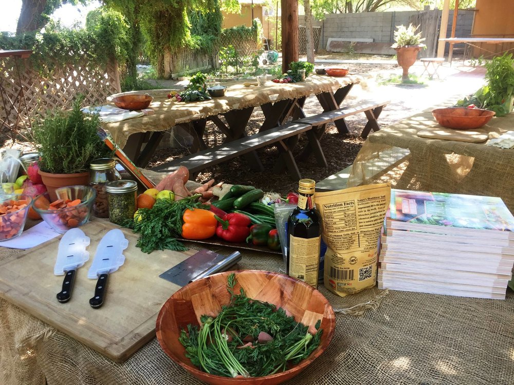 Cooking Class & Meal on LEAF's Farm with Chef David Mills, III  -