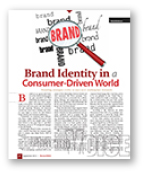 Brand identity is a consumer driven world