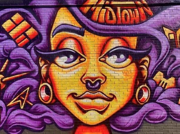 #regram @ilovememphisblog . . An oldie but a goodie. 💜 We have amazing artists in Memphis. This mural's by @toonky_berry. . . . . . #memphismural #memphismurals #midtownmemphis #streetart #graffiti #mural #muralart #instamural #memphisart #memphisartist
