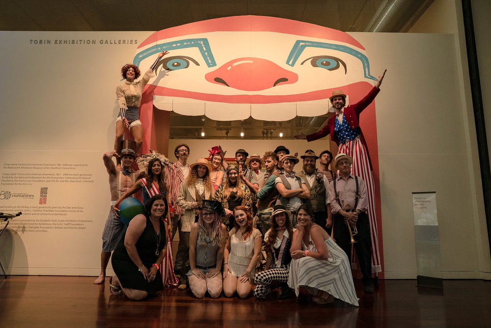 The CIRCUS PICNIC Vintage Carnival Experience