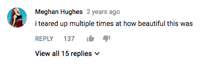 youtube comment about Nahko Aloha Song