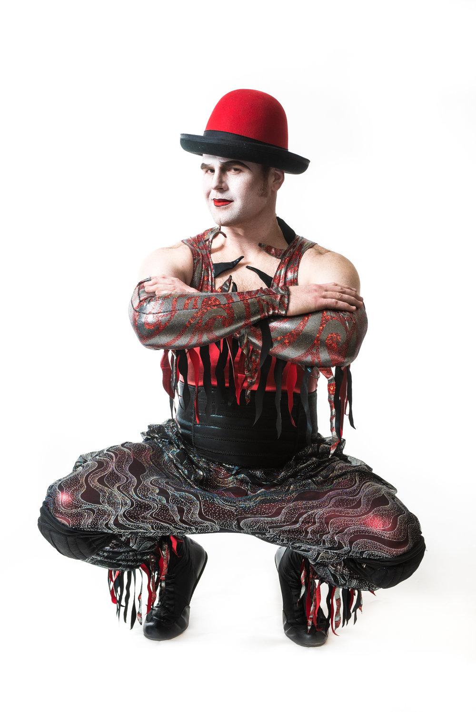Cyr Wheel Artist Cirque themed