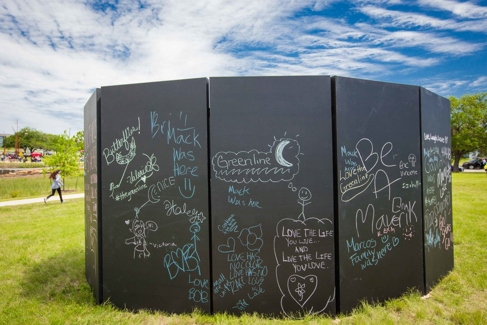 Chalk Wall Maze for Rent