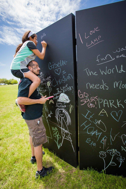Chalk Wall Rental