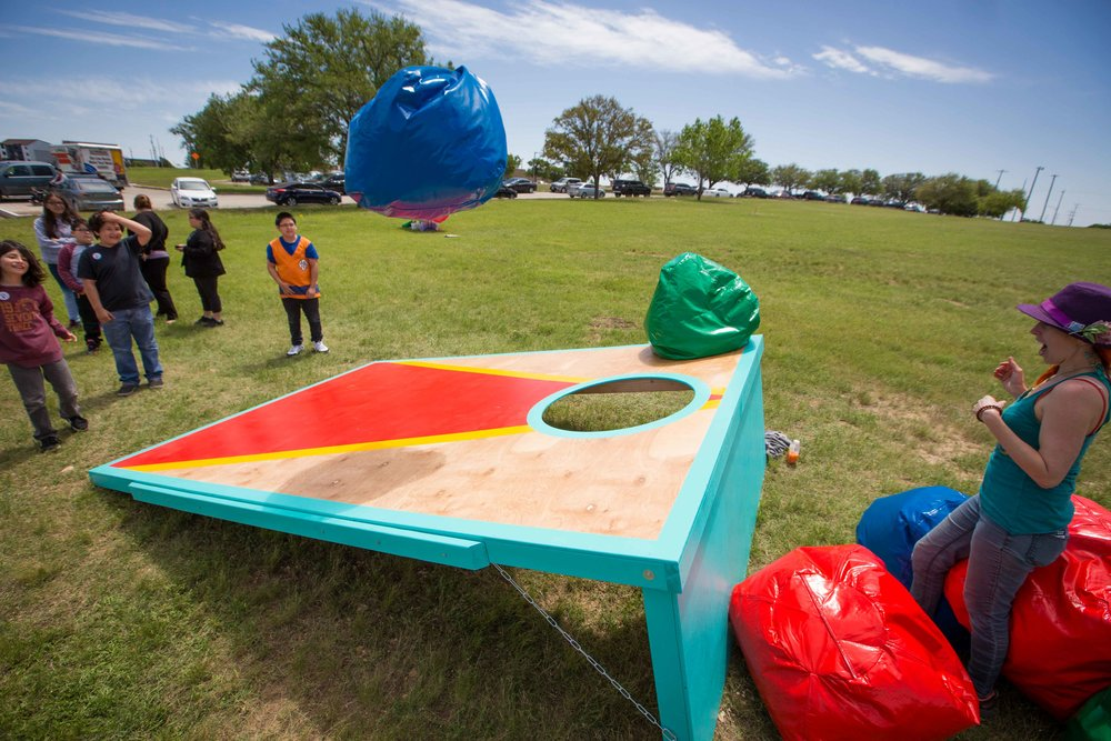 large lawn games for rent