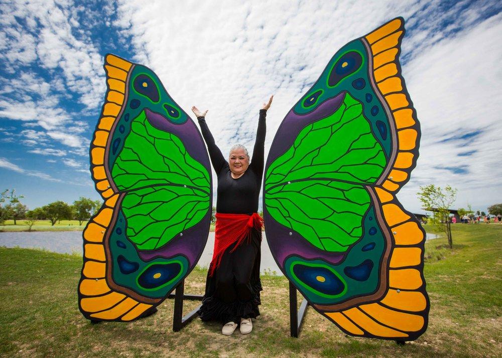 Butterfly Wing Rental