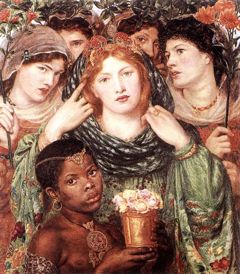 "Dante Gabriel Rosetti's ""The Beloved"" (1865-66), illustrating the Song of Solomon"