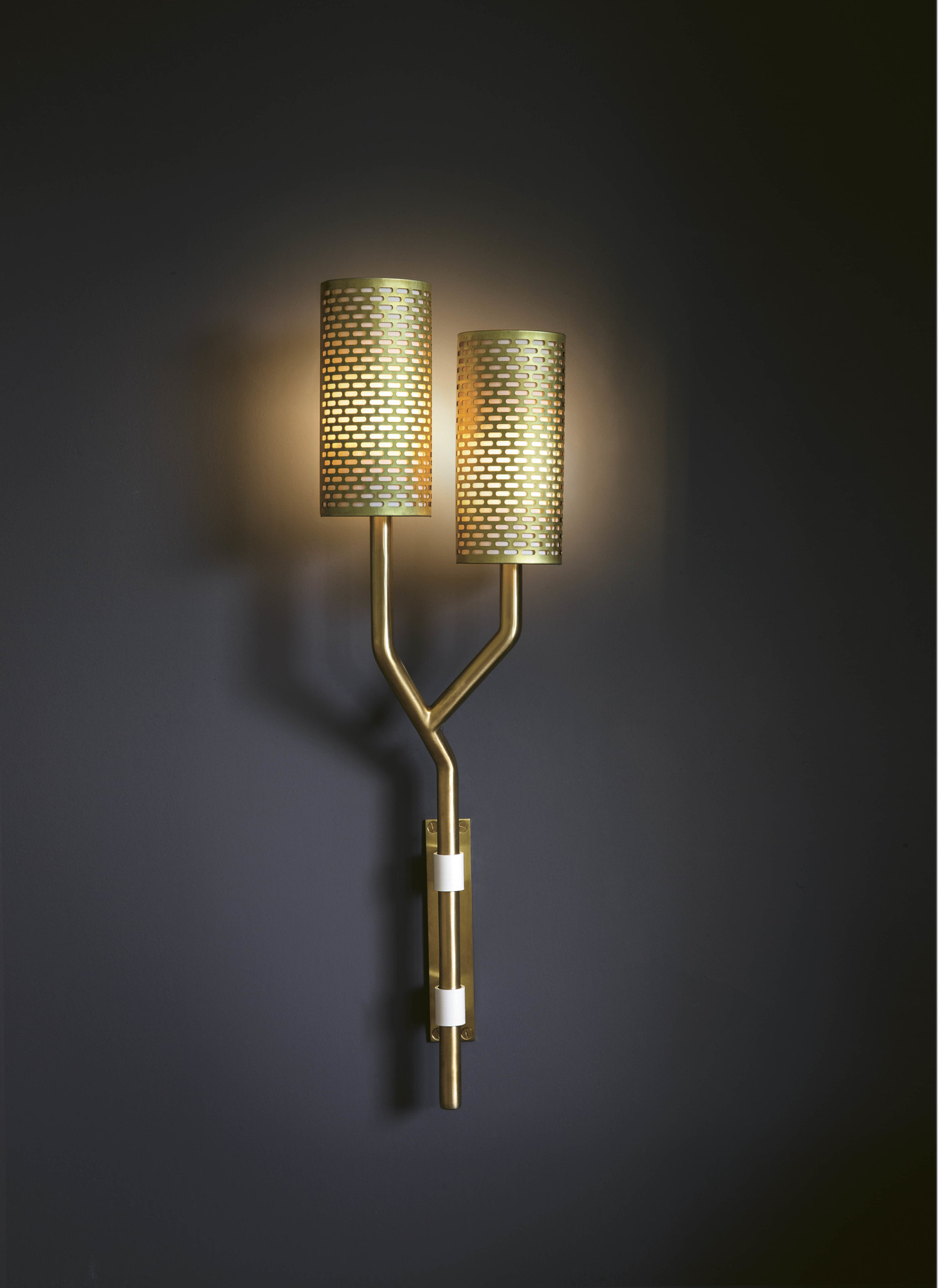 side birch gold stem view double collection silk wall lighting unlit with collections tigermoth light